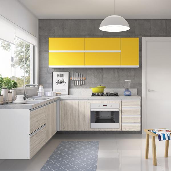 Como ter uma cozinha prática e decorada
