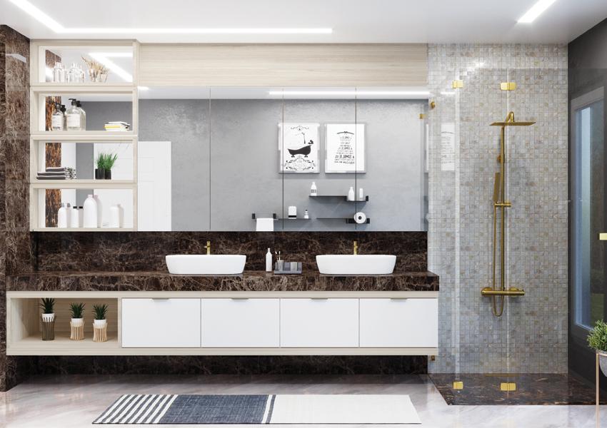 Banheiro planejado: o novo sonho de consumo das casas