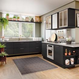 Móveis pretos na decoração: como e quando usar?