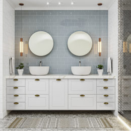 Do provençal ao contemporâneo: 5 estilos de decoração de banheiro que estão em alta